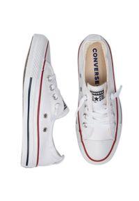 Białe półbuty Converse z cholewką, klasyczne