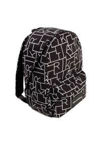 Czarny plecak Karl Lagerfeld klasyczny