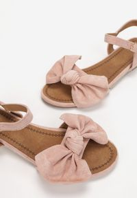 Renee - Różowe Sandały Vasilios. Kolor: różowy