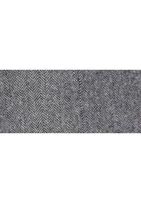 TOP SECRET - Marynarka z tkaniny w jodełkę. Kolor: szary. Materiał: tkanina. Wzór: jodełka. Sezon: zima. Styl: klasyczny #7
