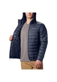 Niebieska kurtka turystyczna columbia plus size #2