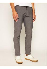 Strellson Spodnie materiałowe Code-W 30020089 Szary Slim Fit. Kolor: szary. Materiał: materiał