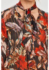 Wielokolorowa bluzka Morgan z długim rękawem, na co dzień, długa