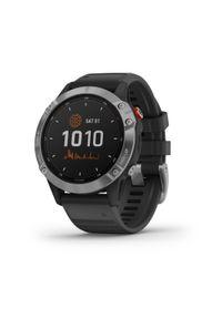 GARMIN - Zegarek do biegania z GPS Garmin Fenix 6 Solar Silver. Rodzaj zegarka: smartwatch. Styl: biznesowy