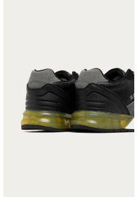 Czarne sneakersy s.Oliver z okrągłym noskiem, z cholewką