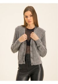 Szary sweter klasyczny Manila Grace