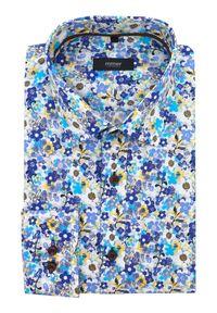 Elegancka koszula Mmer długa, w kwiaty #4