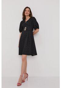 Pennyblack - Sukienka. Kolor: czarny. Typ sukienki: rozkloszowane