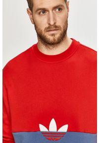 adidas Originals - Bluza. Kolor: czerwony