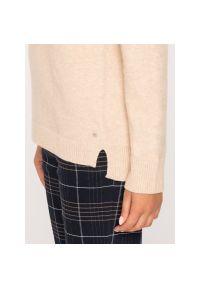Beżowy sweter Marc O'Polo polo