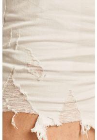 Białe szorty Answear Lab na co dzień, wakacyjne