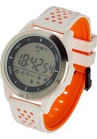 Pomarańczowy zegarek Garett Electronics smartwatch, sportowy