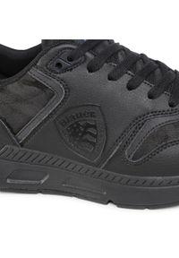 Czarne sneakersy Blauer z cholewką