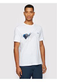 BOSS - Boss T-Shirt 4 50447955 Biały Regular Fit. Kolor: biały