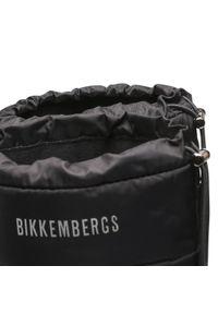 Bikkembergs - Kozaki BIKKEMBERGS - Pull On Boot B4BKW0117 Black. Kolor: czarny. Materiał: skóra, materiał. Szerokość cholewki: normalna. Sezon: zima, jesień
