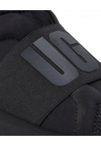 Czarne sneakersy Ugg bez zapięcia, na co dzień