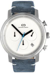 Niebieski zegarek Giacomo Design