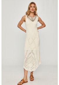 Sukienka TwinSet rozkloszowana, gładkie