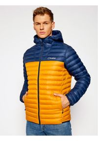 Berghaus Kurtka puchowa Vaskye 4A000765BP6 Pomarańczowy Regular Fit. Kolor: pomarańczowy. Materiał: puch