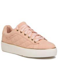 Jenny Fairy - Sneakersy JENNY FAIRY - WSSH0098 Pink. Okazja: na co dzień. Kolor: różowy. Materiał: skóra ekologiczna, materiał. Szerokość cholewki: normalna. Styl: casual
