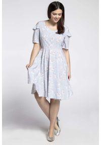 Sukienka wizytowa Nommo plus size, dla puszystych