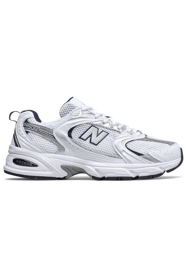 Sneakersy New Balance na lato, na sznurówki