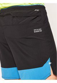 Czarne spodenki sportowe New Balance do biegania