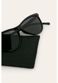 Czarne okulary przeciwsłoneczne Pieces #3