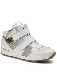 Karino - Sneakersy KARINO 1652/143-P Biały/Złoty. Kolor: biały, złoty, wielokolorowy