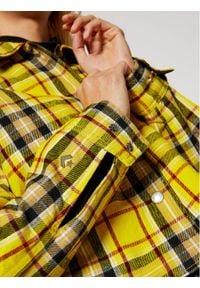 Converse Kurtka zimowa Reversible 10019436-A03 Żółty Regular Fit. Kolor: żółty. Sezon: zima
