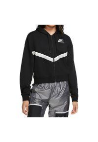 Bluza damska Nike Sportswear CU5902. Typ kołnierza: kaptur. Materiał: włókno, poliester, materiał, wiskoza, bawełna