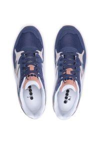 Diadora - Sneakersy DIADORA - N902 Summer 501.177049 01 60017 Blue Lead. Okazja: na co dzień. Kolor: niebieski. Materiał: skóra, materiał, zamsz. Szerokość cholewki: normalna. Styl: casual
