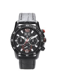 Czarny zegarek Royal London sportowy