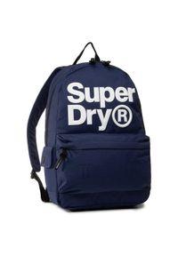 Niebieski plecak Superdry