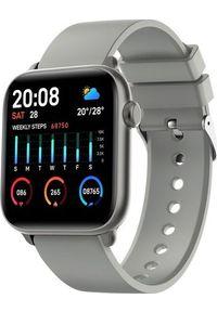 Szary zegarek smartwatch