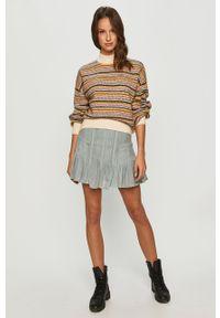 Wielokolorowy sweter Pepe Jeans z długim rękawem, długi