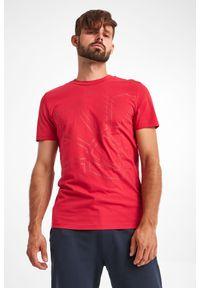 Joop! Collection - T-SHIRT CHANNING JOOP! COLLECTION. Materiał: bawełna. Długość rękawa: krótki rękaw. Długość: krótkie. Wzór: nadruk