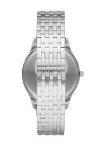 Emporio Armani - Zegarek AR11286. Kolor: srebrny. Materiał: materiał