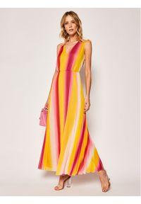 Sukienka letnia Escada Sport w kolorowe wzory, sportowa, wizytowa