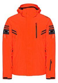 Pomarańczowa kurtka sportowa CMP narciarska