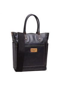 Czarna torebka klasyczna Marciano Guess skórzana