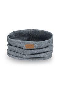 Komin chłopięcy na wiosnę PaMaMi - Granatowa mulina. Kolor: niebieski. Materiał: bawełna, elastan. Sezon: wiosna