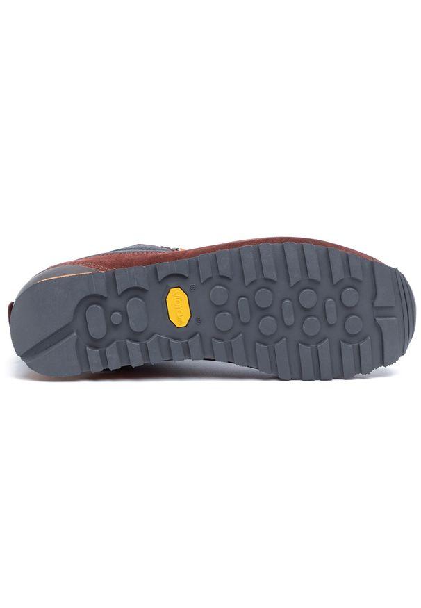 Czerwone buty trekkingowe Aku Gore-Tex, trekkingowe, z cholewką