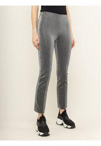 Srebrne spodnie materiałowe Armani Exchange