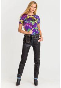 Jeansy Versace Jeans Couture klasyczne, z podwyższonym stanem