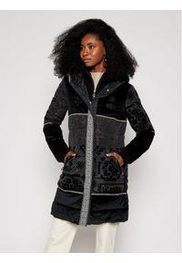 Czarna kurtka puchowa Desigual