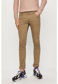 Only & Sons - Spodnie. Kolor: beżowy