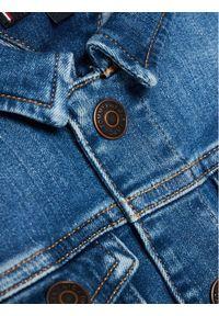 TOMMY HILFIGER - Tommy Hilfiger Kurtka jeansowa KB0KB06445 M Granatowy Regular Fit. Kolor: niebieski. Materiał: jeans
