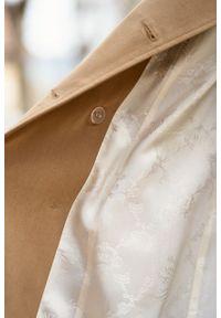 Marie Zélie - Trencz Adria bawełna z elastanem kamelowy. Materiał: bawełna, elastan. Sezon: lato. Styl: klasyczny #9