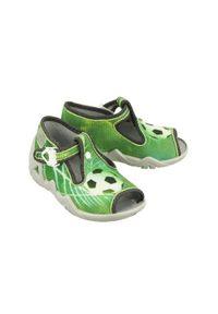 Befado - BEFADO 217P 093 zielony, kapcie dziecięce, rozmiary:19-26. Kolor: zielony